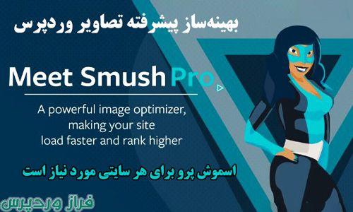 افزونه فشرده سازی تصاویر وردپرس اسموش پرو | WP Smush Pro